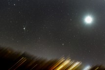 Comet C/2013 US10 and Venus, 11x30s, f/4, ISO1600, Nikon D750, AF-S Nikkor 70-200 f/4