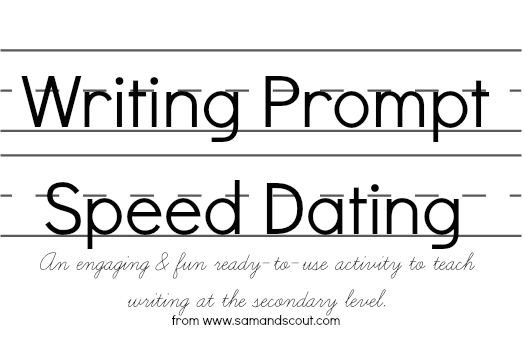 Writing speed dating