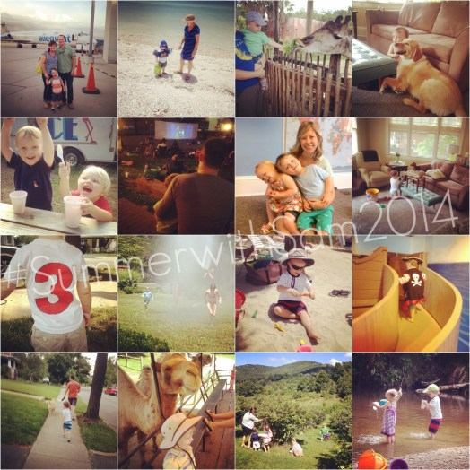 Summer With Sam Collage