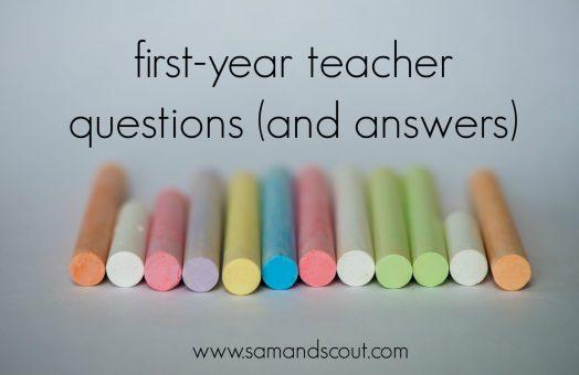 first year teacher banner