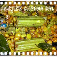 Drumstick Chenna Dal Fry