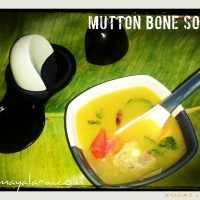 Mutton Bone Soup (Margandam Soup)