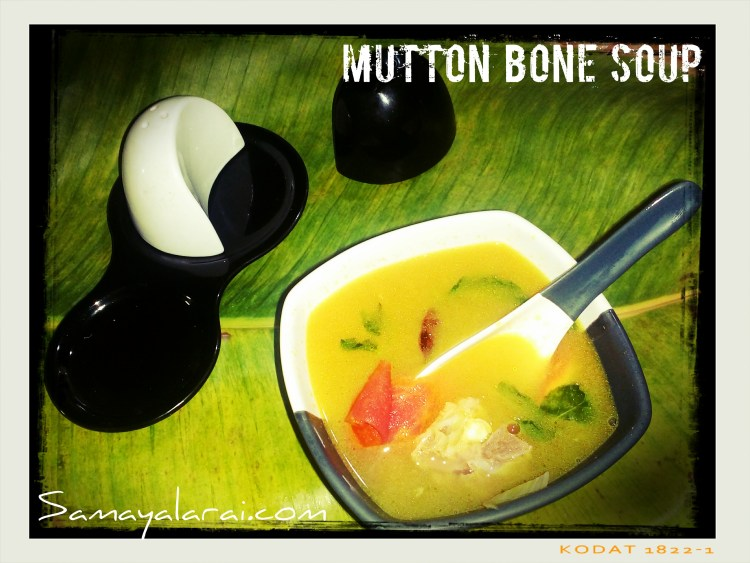 Mutton Bone Soup