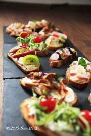 bruschetta Sam Cook Traiteur