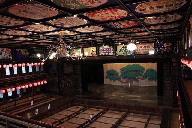 幽靜熊本小鎮百年劇場 山鹿八千代