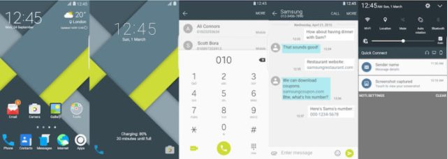 Samsung Galaxy Theme - Material Plus