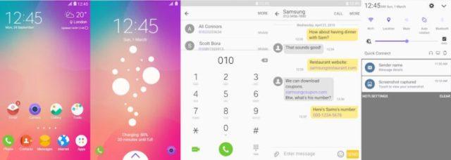 Samsung Galaxy Theme - Good UI