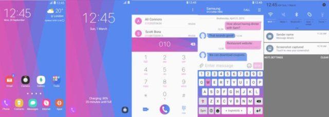 Samsung Galaxy Theme - [Walk On Mars] Funky Pop Patterns