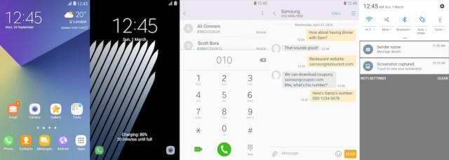 Samsung Galaxy Theme - No 7 Theme