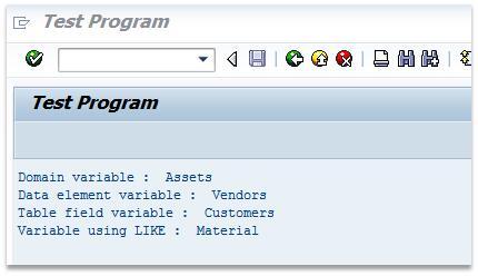 Get Domain Fixed Value Description
