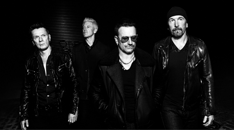 "U2 sample Donald Trump sur ""Desire"" au iHeartRadio Fest"