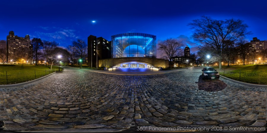 Rose Science Center & Hayden Planetarium :: New York City  :: 360° Panorama