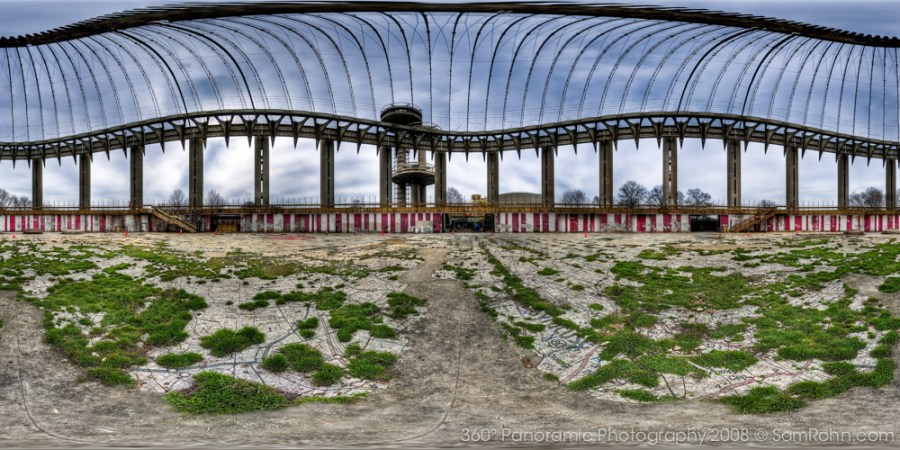Tent of Tomorrow - 1964 Worlds Fair, Queens, NYC  :: 360° Panorama