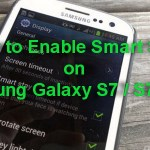 How to Enable Smart Stay on Samsung Galaxy S7 and S7 Edge