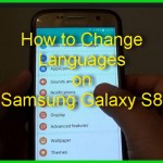How to Change Language on Samsung Galaxy S8