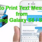 How to Print Text Messages From Samsung Galaxy S6 / S6 edge
