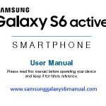 Samsung Galaxy S6 Active Manual / User Guide PDF Download
