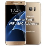 How to find the WiFi MAC Address on Samsung Galaxy S7 and S7 edge