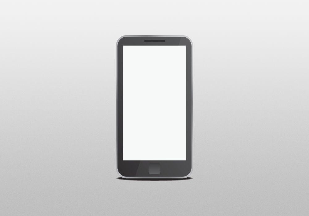 Free Vector mobile mockup