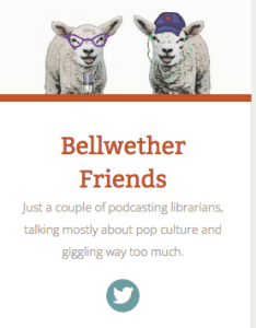 Great podcast with great resource lists on their blog.Librarians rock!