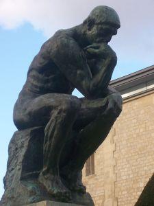 """Rodin """"Düşünen Adam"""""""