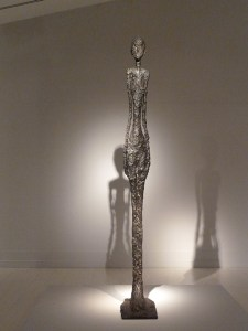 Alberto Giacometti Paris Ekolü'ne dahil olan İsviçre asıllı heykeltıraş, ressam, resim çizimcisi ve estamp hazırlayıcısı.