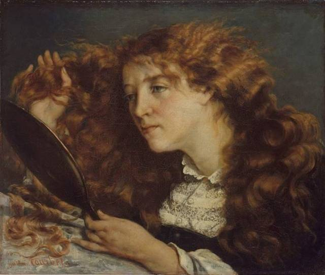Gustave Courbet- Jo'nun Portresi