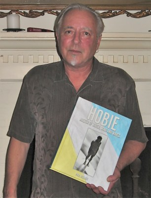 Paul Holmes, author of HOBIE: Master of Water, Wind and Waves, will be on hand for a launch party and book signing at the Surfing Heritage and Culture Center in San Clemente, Saturday. Courtesy photo