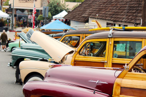 Classic Woodies are a regular part of the San Clemente Car Show and will return for the 19th edition of the show this year. Photo: Jim Shilander