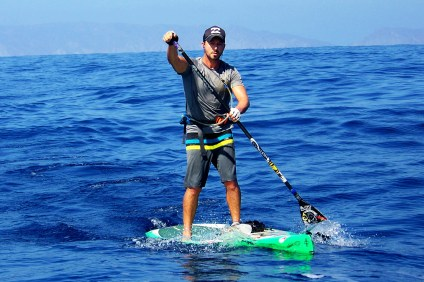 Will Schmidt recently completed an unassisted solo stand-up paddleboard journey that stretched from Canada to Mexico. Courtesy photo