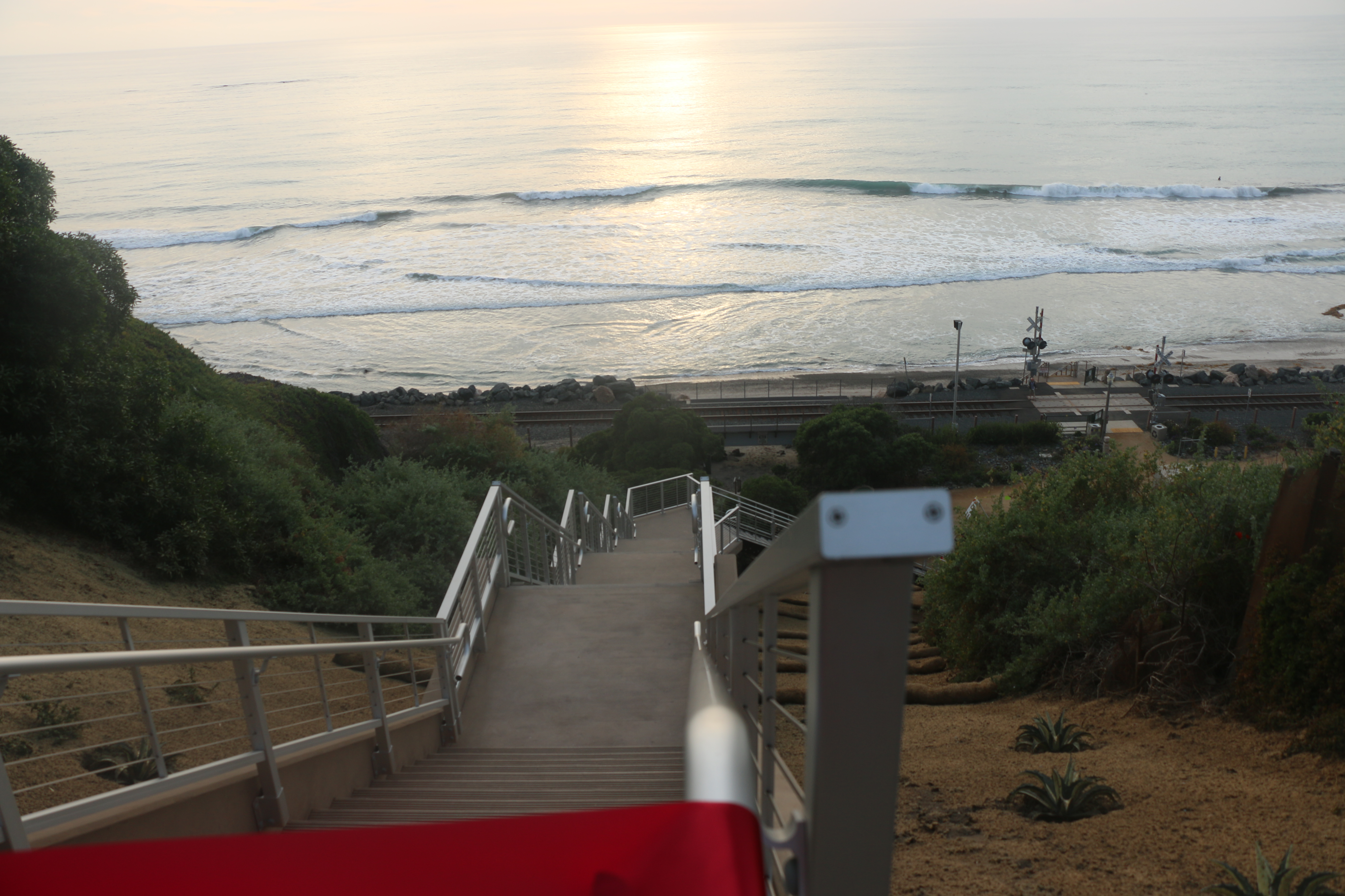 Stairs At El Portal Beach Access Reopen