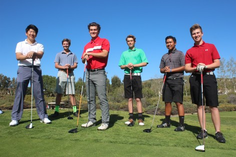 The San Clemente boys golf team earned a share of the South Coast League title this season. Photo: Steve Breazeale