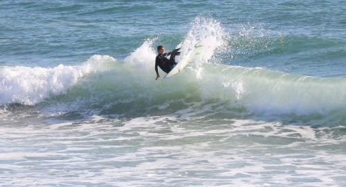 Rece DeLorenzo, 14, of San Clemente is our Grom of the Week. Photo: Matt Cortina