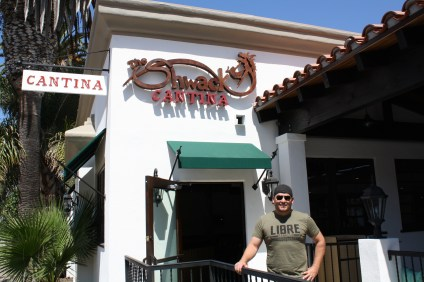 Max Fisher, owner of The Shwack Cantina, stands in front of the newly opened restaurant in San Clemente. Photo: Kristina Pritchett