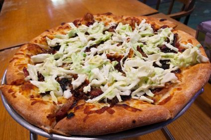 Bubba Kahunas Pulled Pork Pizza. Photo: Matt Cortina