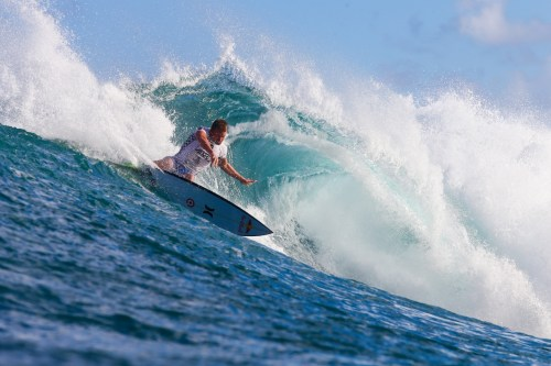 Kolohe Andino said he practices every day, trying to learn techniques he hasn't yet mastered. Photo: Masurel/WSL