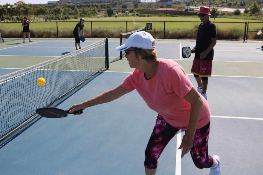 San Clemente residents are embracing the sport of Pickleball by taking weekly instructional classes. Photo: File/Daniel Ritz