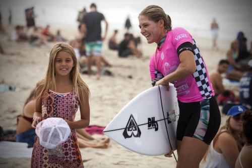Stephanie Gilmore. Photo: Courtesy WSL