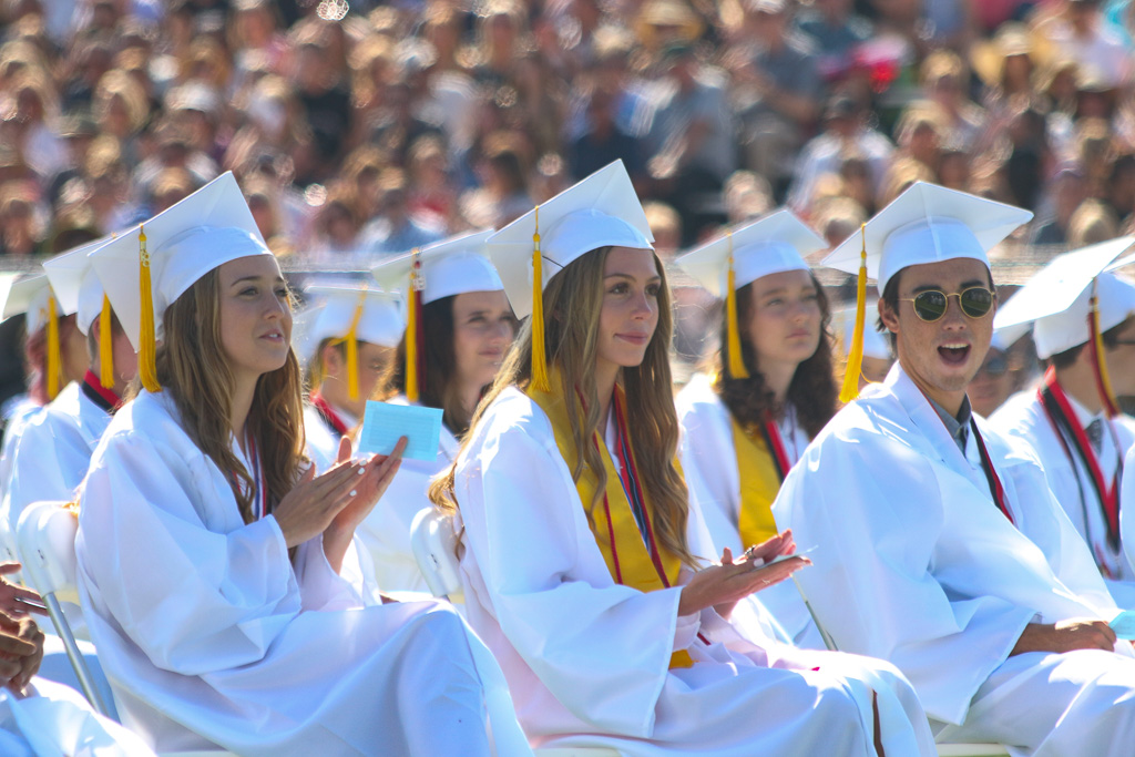 San Clemente High School graduation, Class of 2018. Photo: Eric Heinz