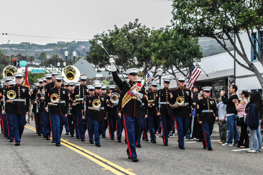 U.S. Marines from the 2nd Battalion, 4th Marines will have a parade thrown in their honor as well as the veterans of the 2/4 on Friday, Nov. 9. Photo: File