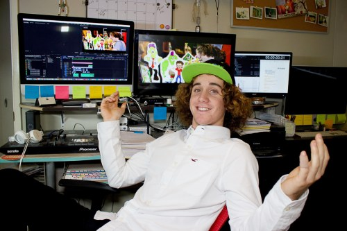 Zach Marks of San Clemente created a social media platform for children where they can communicate under a safely monitored environment. Photo: Courtesy of Grom Social