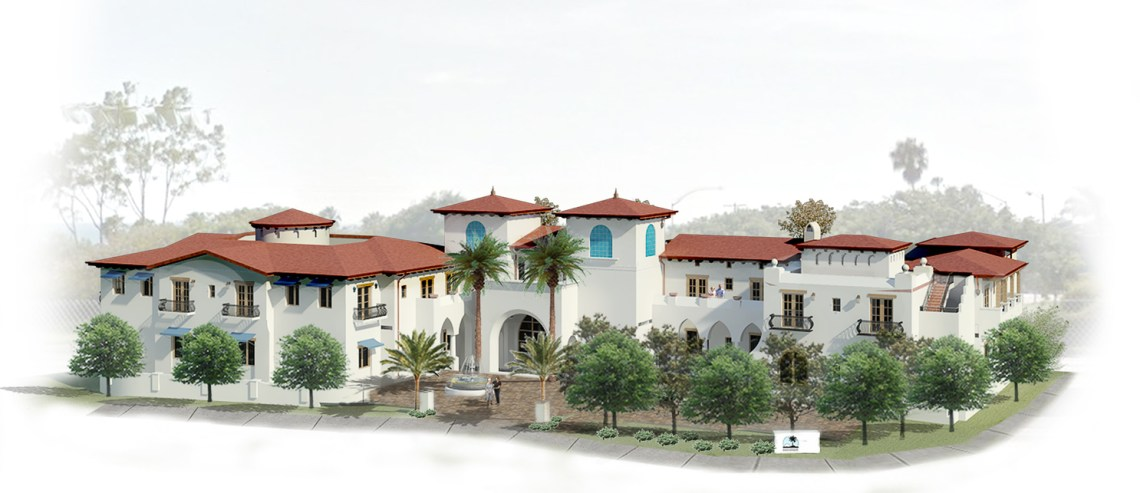 Raya's Paradise, located at 101 Avenida Calafia, is planned to open 40 rooms by 2020 for assisted and specialized retirement living. Photo: Rendering provided by Raya's Paradise