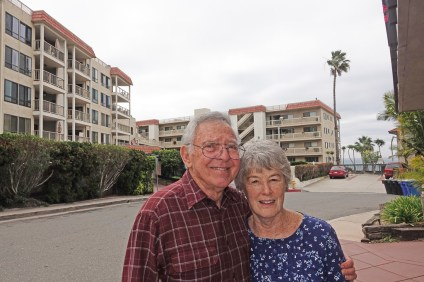 For all the changes they have seen on their street and in a growing town, Dick and Marilyn Herr are happy and enjoying life. Photo: Fred Swegles