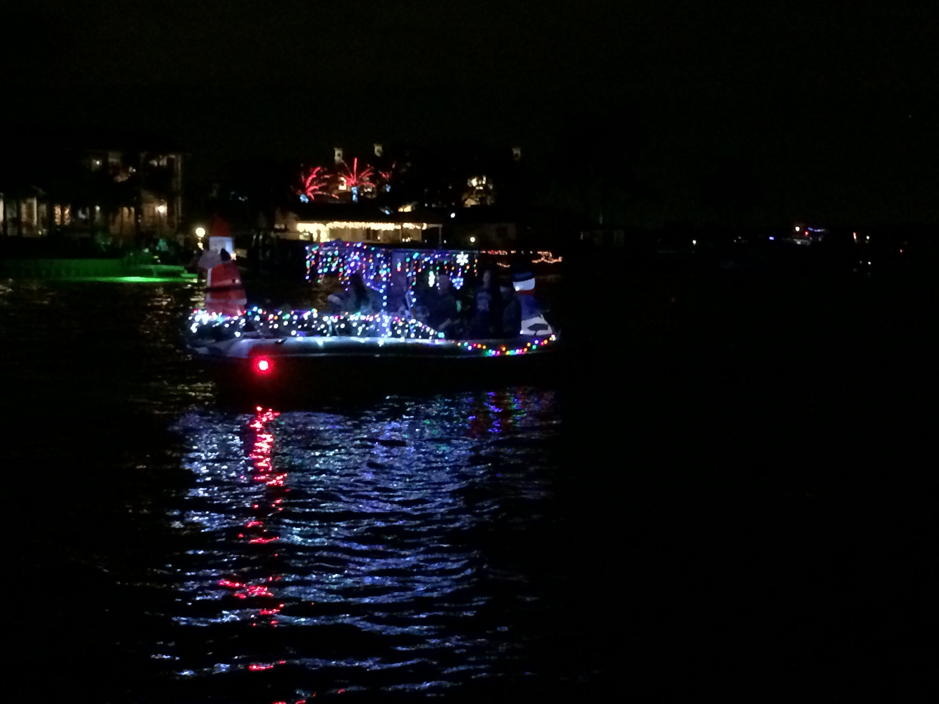 Treasure Island Boat Parade  Route