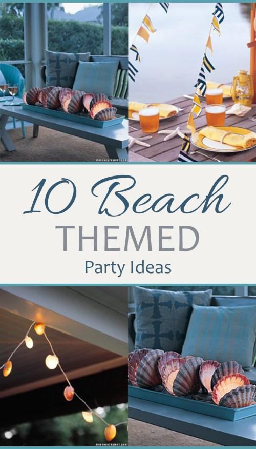 Medium Of Beach Party Ideas