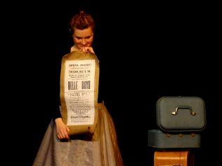 Amber Bjork in Boyd Girls for Sandbox Theatre's Suitcase (2013)
