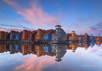 Reitdiephaven sunset