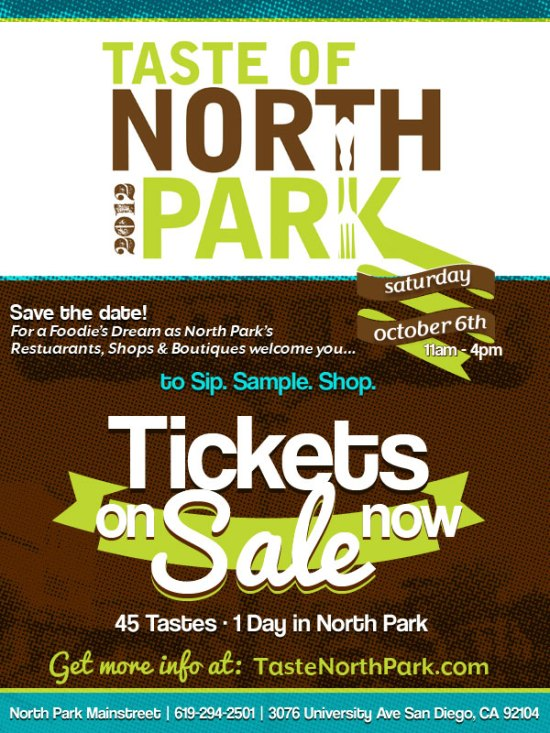 Taste of North Park GIVEAWAY (North Park)