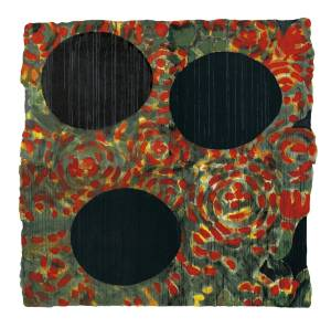 'Black Eggs and Roses, May 22 2000' by Donald Sultan [photo: tate.org.uk]