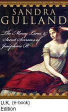 The Many Lives & Secret Sorrows of Josephine B. - U.K. Cover